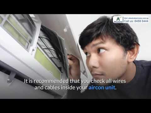How To Solve Panasonic Aircon Light Blinking Problem