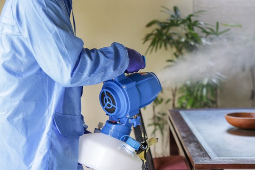 Is It Harmful To Inhale The Fog Coming Out From Disinfection Service?